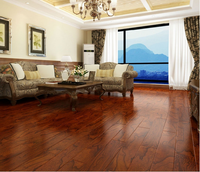 anti-water non slip brown core high gloss laminate flooring With Trade Assurance