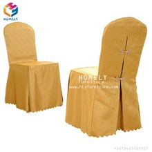 Wholesale Cheap Garden White Pleated Ruffled Rosette Polyester Spandex Wedding Chiavari Banquet Chair Cover for Sale