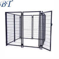 Heady Duty welded wire mesh large Dog Cage /dog run kennels for sale