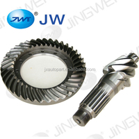 Grinding bevel gear bevel plate and worm shape shaft spiral gear bevel reducer spare parts