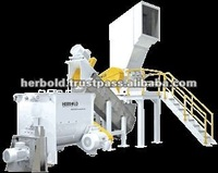 Wet Granulator Machinery and Recycling Systems for Contaminated Materials