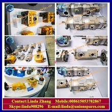 For komatsu WA600-1 loader gear pump 705-12-40831 hydraulic small steering pump transmission pump parts