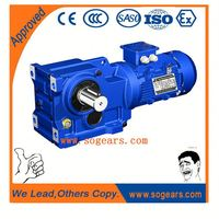 China Made Transmission shaft electric motor reduction gearbox Milling Machine