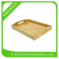 Cheap Eco-friendly Bamboo Tray with Handle