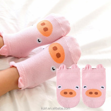100% Cotton Baby Socks Newborns Candy Male Female Kid's Children Socks Baby Boy And Girl Short Floor Socks etw-165