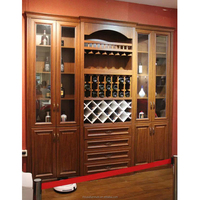 China Good Quality Antique Solid Wood Drinks Wine Cabinet Cabinets/Antique Wine Cabinet/Solid Wood Drinks Cabinets