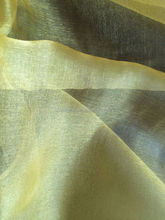 Organza fabric for wedding Color yellow quality bright