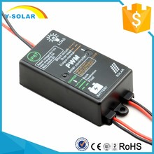 Y-SOLAR waterproof mini 5A 12 volt regulator for solar panels load on 24hours