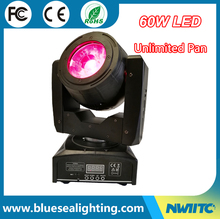 Wholesale factory price 4-in-1 60W moving head beam light LED