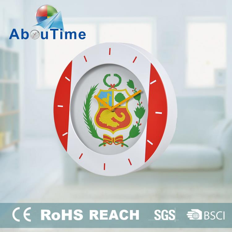 3D digital plastic wall clock with clokc movementsfor chimes idea