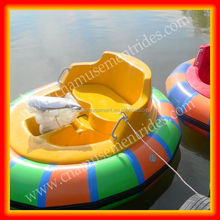 Adult rides inflatable electric bumper boat for sale