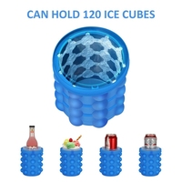 Silicone Kitchen Tool The Revolutionary Space Saving Ice Cube Maker