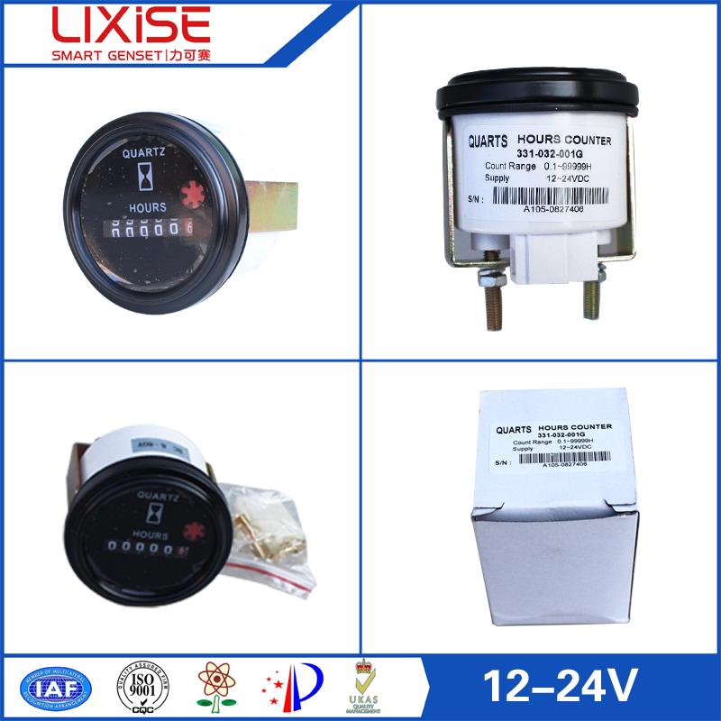 12 Volt Hour Meter : Hour counter for generator volt meter buy