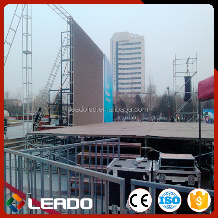 High quality rental bus led display screen