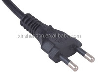 Uruguay 2 pin electrical extension power cord computer cable