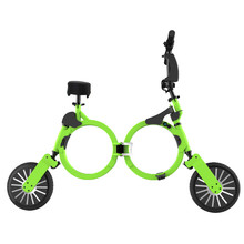 10 inch Electric Folding Mountain Bike 48V Best Chainless Bicycles