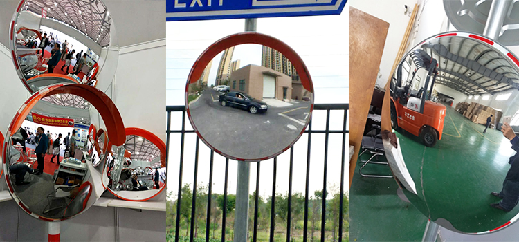 Best selling unbreakable traffic safety convex mirror in China with very competitive price