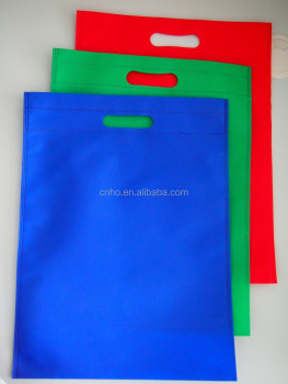 Various Size and Color Flat Non Woven Bag non-woven shopping bag