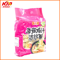 Non fried chicken mushroom flavor noodle healthy foods