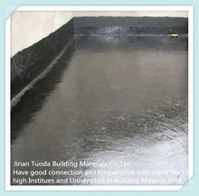 Concrete Waterproof Sealer Coating Material with rubber waterproof materials