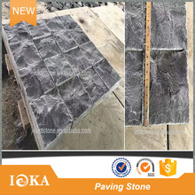 Black Outdoor Basalt Tiles Paving Stone for Driveway