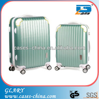 2014 selling best travel 3pcs abs safari trolley bags