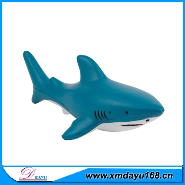 New Arrival Sea Animal Soft Toy Promotional Antistress Shark
