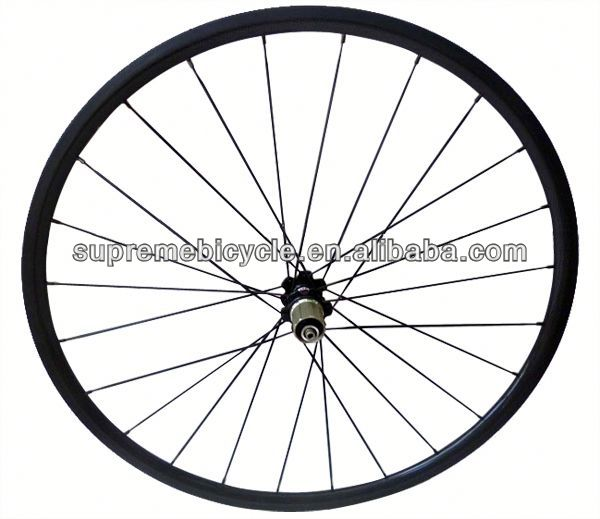 High quality 700c road bicyle for clincher or tubular carbon wheelset bicycle rims with 36 spoke