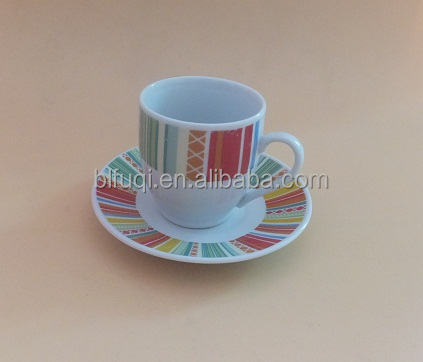 Turkish coffee and tea set ceramic tea cups and saucers sets porcelain cup and saucer