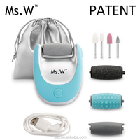 Ms.W Wholesale Products China New Power Cordless Foot Scrub Electric Callus Remover As Seen On TV
