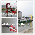 DINGKE 6 inch hydraulic cutter suction small dredger