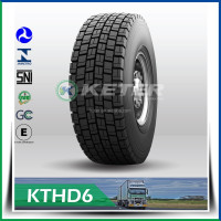 Heavy duty truck tire 295/75R22.5