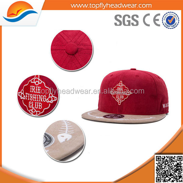 Applique Embroidery Wholesale Manufacture High Quality Snapback Cap/Hats
