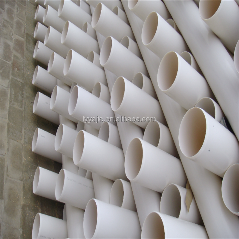 plumbing materials supply manufacturer pvc water pipe for underground