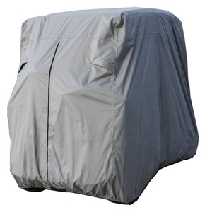 All weather protection waterproof/dustproof golf cart cover for club car 4 seater