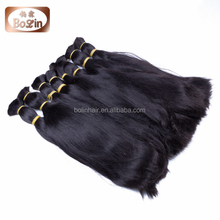 Qingdao Hair Factory Hot Wholesale European Bulk Hair for Braiding
