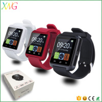 Wholesale Bluetooth Android U8 unlocked smart watch mobile phone with 32MB memory