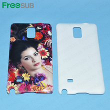 Wholesale customed 2D 3D blank sublimation custom phone cases for Samsung note 3 N9100