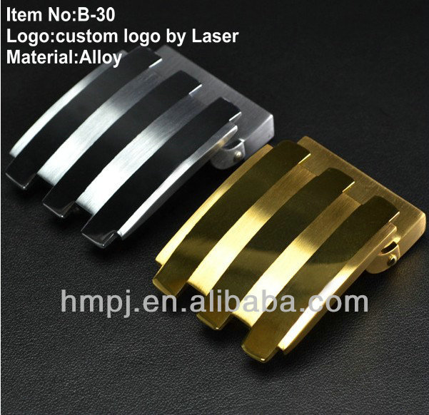 2013 fashion belt buckle with gold and silver plating