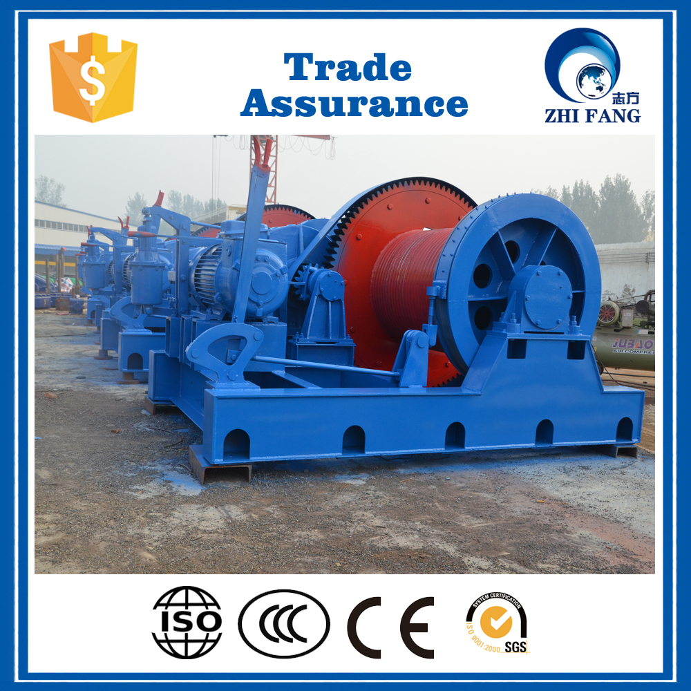 Factory Price Customized Wire Rope Fast Speed 1-80t Electric Drum