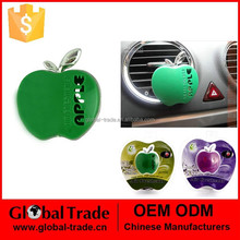 Car accessories automobile perfume air outlet perfume apple Car tuyere perfume Many color chosen A1856