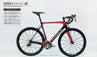 Carbon fiber racing bicycle road complete bike