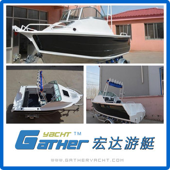 Gatherl Factory Directly Provide Cheap Aluminum Barge Boat