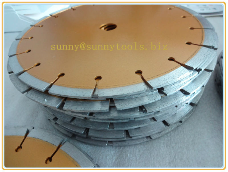 250mm Laser Welded Concrete Cutting Blade for Power Tools