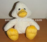 cute white duck soft toys stuffed cartoon plush duck 2013 new stuffed animal toys for kids best christmas gifts