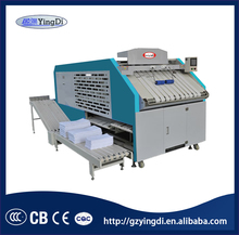 Guangzhou hotel towel,bed sheet automatic laundry folding machine,industrial laundry machine