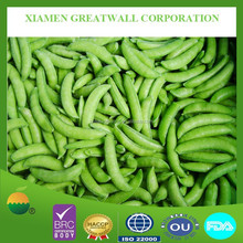 New crop frozen vegetable, sugar snap peas