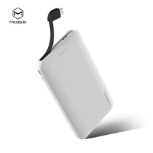 2018 Mcdodo New Portable 10000mAh Mobile Charger Power Bank With Charging Cable For iphone and android