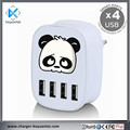 Wholesale Mobile Phone Accessories 4.5A Multi 4 ports Usb Wall Charger for iPhone/Android