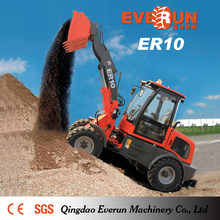 Qingdao Everun Brand ER10 Small Garden Tractor Front End Loader with